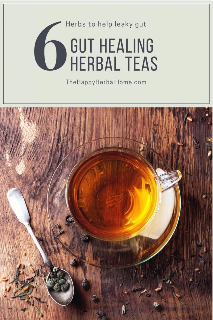 Gut Healing Herbal Teas