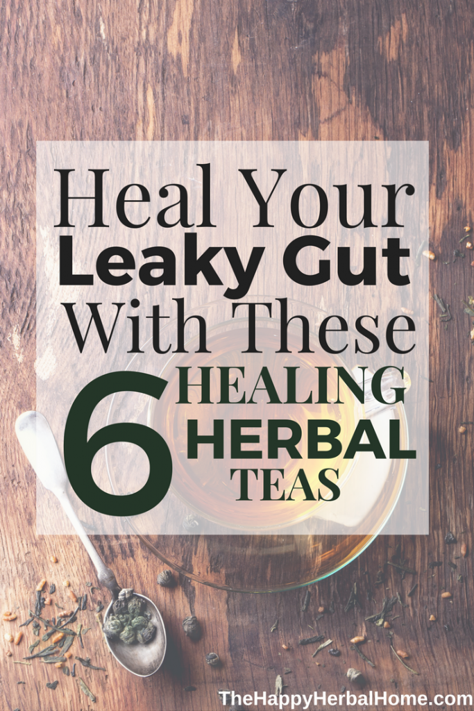 Gut Healing Herbal Teas