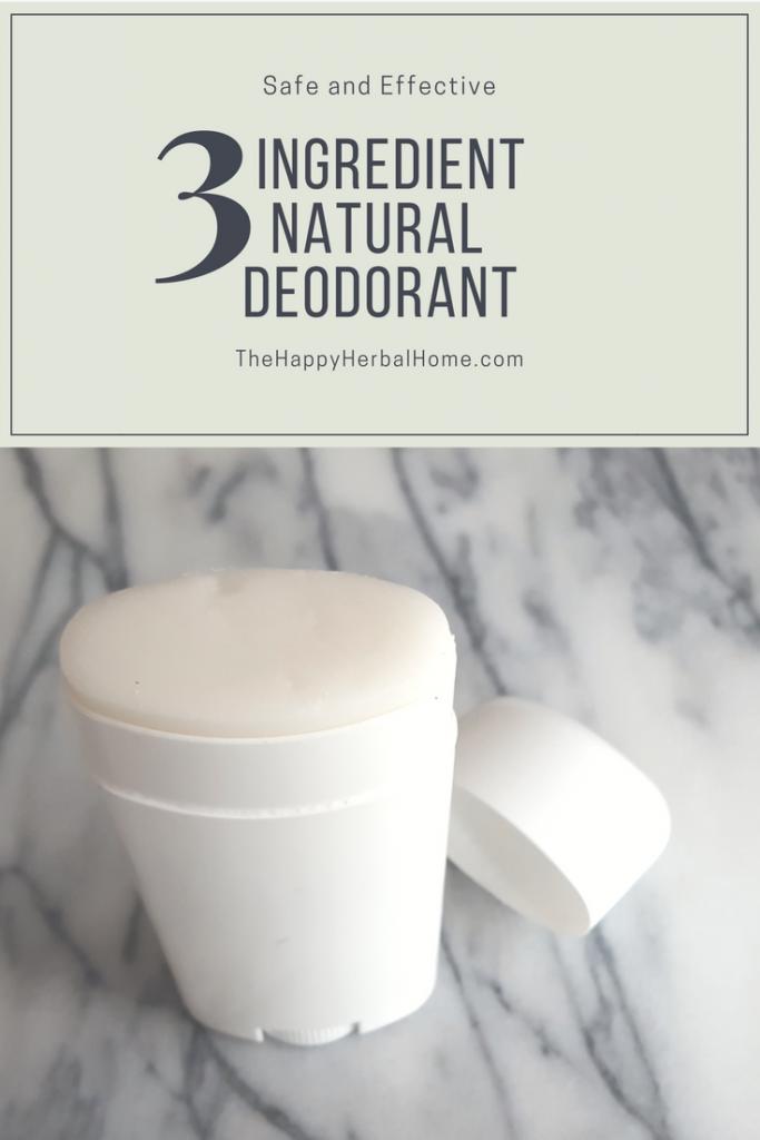 DIY all natural - chemical free deodorant