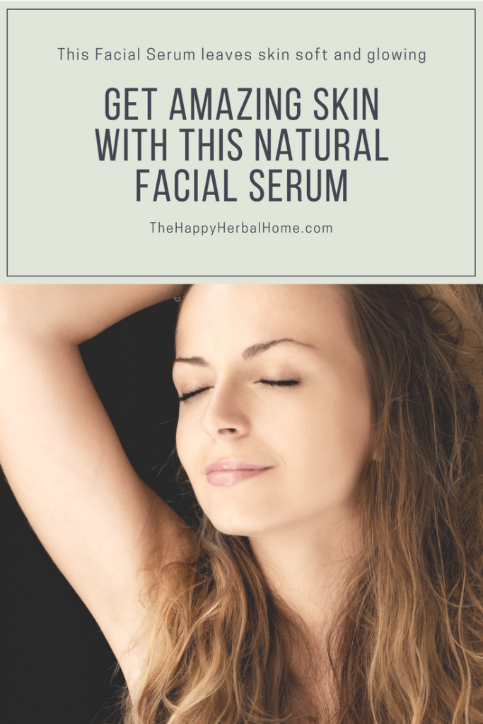 Get amazing skin with this easy DIY natural facial serum