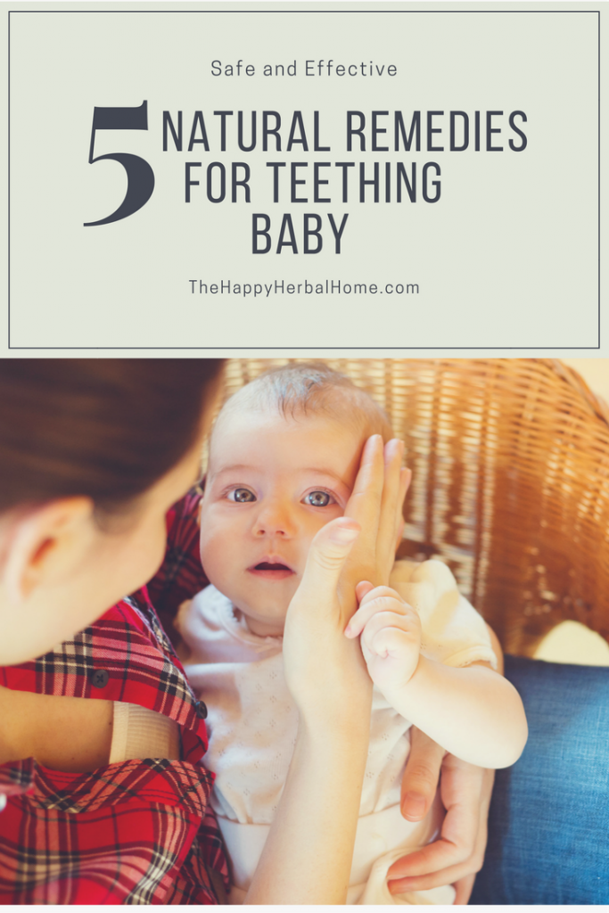 Natural Remedies for teething baby