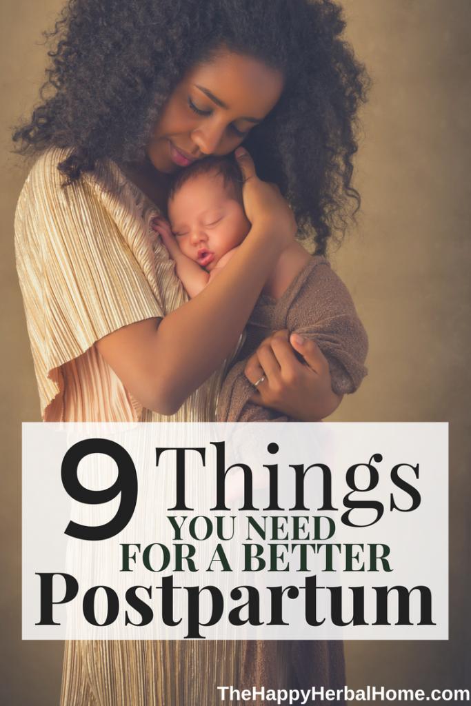 prepare for postpartum
