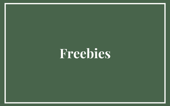 Freebies & Resource Library