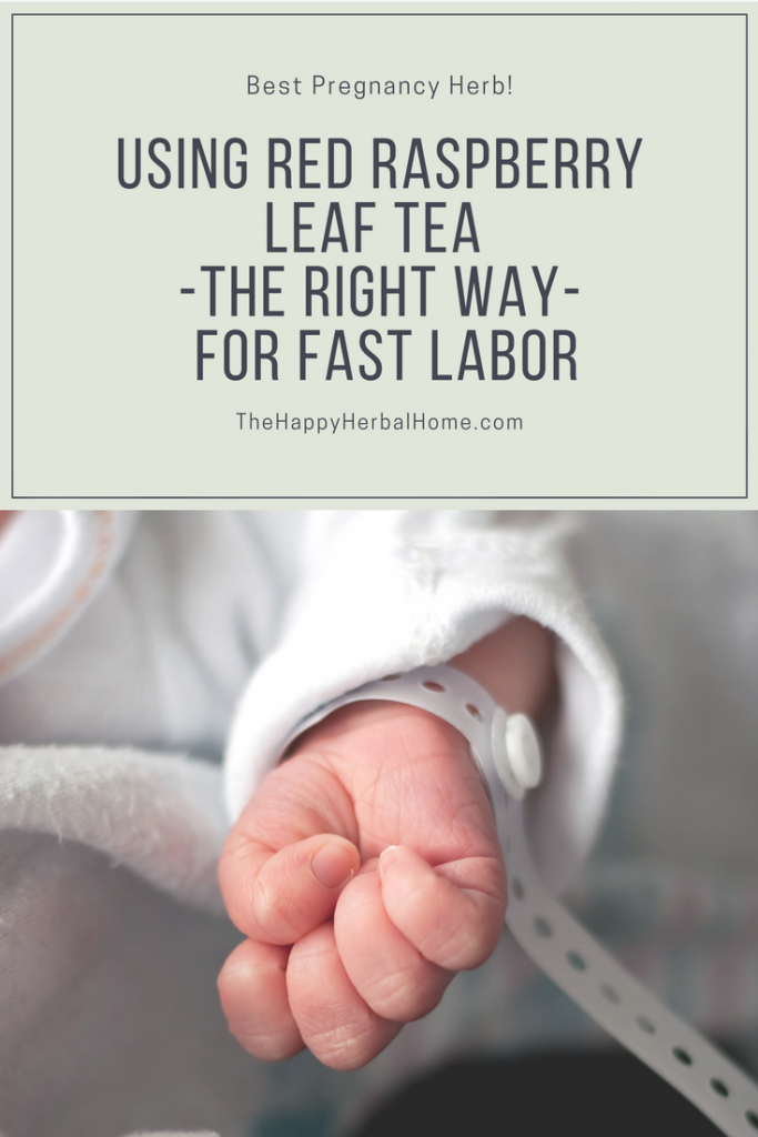 How to use red raspberry leaf tea the right way for a quicker birth