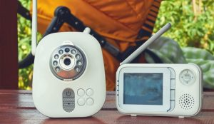 Why a baby monitor is an essential new mom tool. Freedom even with a newborn!
