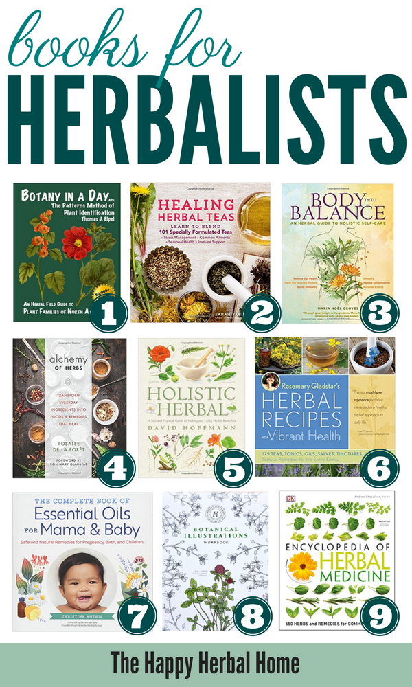 Beautiful herbal books that would make great gifts for the herbalist on your list.