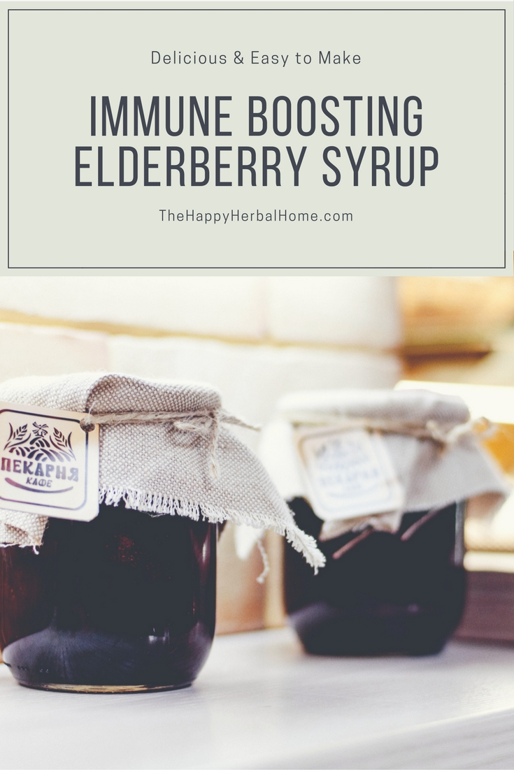 How to boost your kids immune system with elderberry syrup to prevent colds and flus this holiday season.