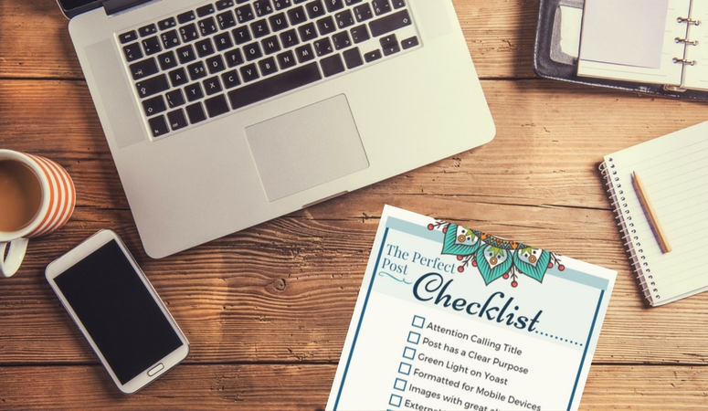 12 Items every blog post needs: The perfect post checklist