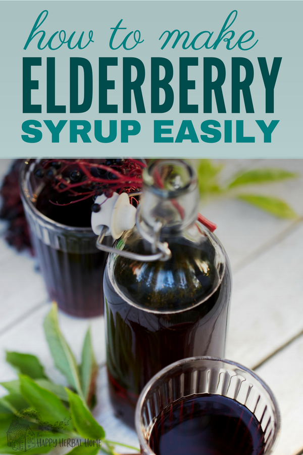 Elderberry syrup is a powerful herbal medicine and should be a staple in every house. Learn how to make your own elderberry syrup with this easy to make recipes and keep your family healthy all season long.