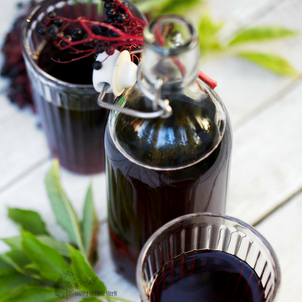 easy elderberry syrup recipe