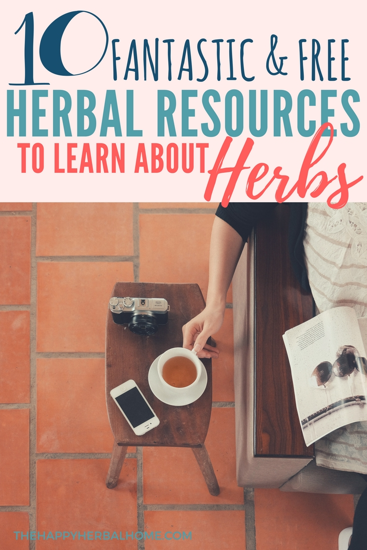 Best free herbal resources to learn about herbs
