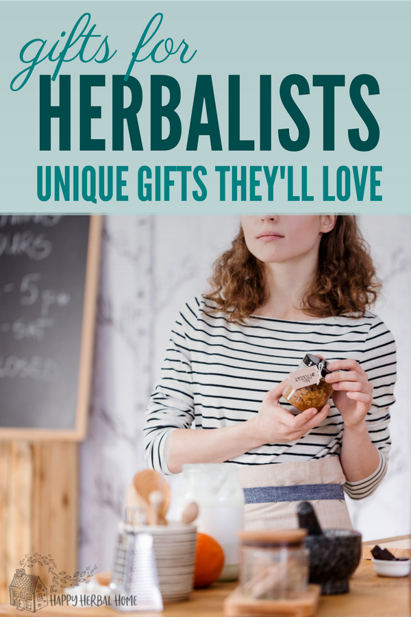 Best gifts for herb lovers. These are unique and fun gifts that any herbalist will love.