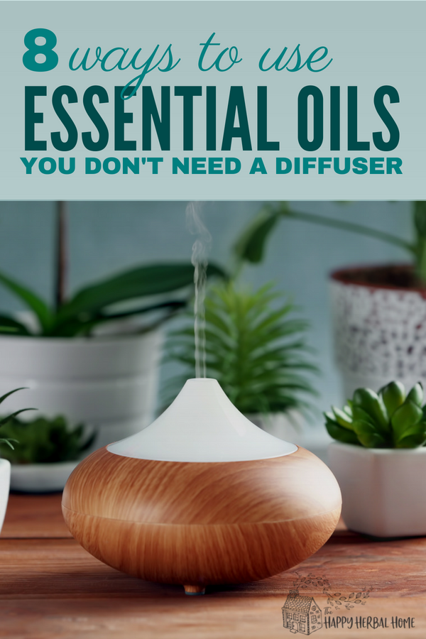 Ways to use essential oils other than just a diffuser.